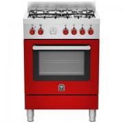 La Germania Prm664exrt Cucina 60x60 4 Fuochi A Gas Forno Elettrico 56 L Classe A