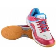 Li-Ning Play AYTL085-1_White/Red Badminton Shoes For Men(White, Red)