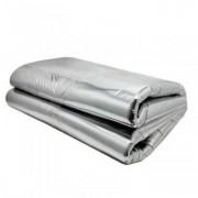 Material insonorizant aluminiu cu adeziv 1.4m x 1m