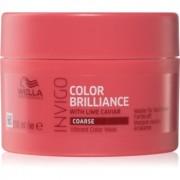 Wella Professionals Invigo Color Brilliance máscara por cabelos grossos pintados 150 ml