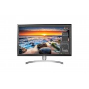 """Monitor LG 27"""", 27UL850-W, 3840x2160, IPS, 5ms, 178/178o, HDMI 2x, DP, USB-C, Lift, Zvučnici, siva, 36mj"""