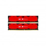 Memorie Goodram IRDM Red 8GB DDR4 2400MHz CL15 Dual Channel Kit