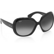 Ray-Ban Butterfly, Over-sized Sunglasses(Grey)