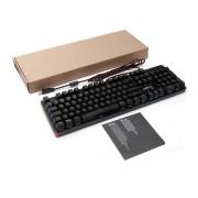 EY LESHP 105 llaves USB con cable RGB Juego Teclado mecánico con retroiluminación LED-Negro