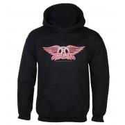 sweat-shirt avec capuche pour hommes Aerosmith - Logo - LOW FREQUENCY - AEHO08019