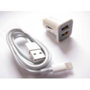 Cablu incarcare auto iphone 5 / 6 si Ipad
