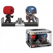 Pop! Vinyl Marvel Captain America e Red Skull Pop! Movie Moment