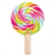 Saltea gonflabila Lollipop Intex, 208 x 135 cm, Multicolor