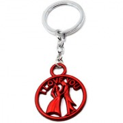 Faynci I love You Red Romantic Couple Velentine Day Romantic Gift key chain