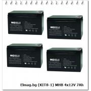 MHB 4x12V 7Ah (KIT8-1)