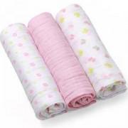 Комплект меки пелени - розови, 382 05 Babyono, 0350005