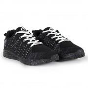 Gorilla Wear Brooklyn Knitted Sneakers (unisex) - Black/White - 40