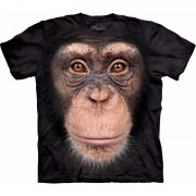The Mountain All-over print t-shirt met Chimpansee aap