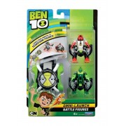Ceas Ben 10 Omnitrix & 2 Figurine (4 Brate, Wildvine)