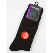 Traders Black Business Socks