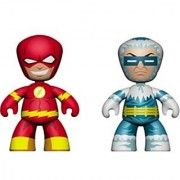 Mezco Toyz DC Universe Mini Mezitz The Flash/Captain Cold (Pack of 2)
