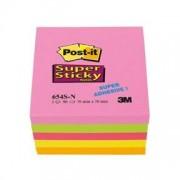 Post-it Superstarka 76x76mm färger i neonrosa, lime, neonrosa, ultragult, neonorange. 18 pcs
