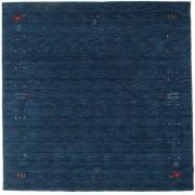 RugVista Tappeto Gabbeh Loom Frame - Blu scuro 200x200 Tappeto Orientale, Quadrato