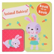 Book-In-A-Book Animal Babies