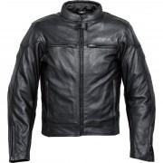 Mohawk Motorradschutzjacke, Motorradjacke Mohawk Touren Lederjacke 1.0 schwarz 50 schwarz