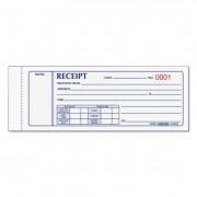Receipt Book, 7 X 2 3/4, Carbonless Triplicate, 50 Sets/book