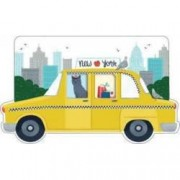 New York City Taxi Shaped Cover Sticky Notes Recipes for Good Times