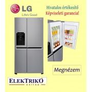 LG GSJ760PZXV side by side hűtőszekrény , A+ energiaosztály , Door in door technológia