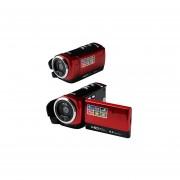 Mini DV 16MP Videocámara Digital De Alta Definición DVR 2.7''(Rojo)