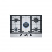 Bosch Pcq7a5b90 Piano Cot 75cm 4f+1w Inox Ghisa Flameselect