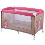 Бебешка кошара на 1 нивo - Baby Nanny, Lorelli, Beige Rose Princess, 0740020