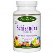 Paradise Herbs Schisandra (60 Veggie Caps) - Paradise Herbs