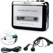 doodad Portable USB Cassette Tape to MP3 PC Converter Capture Stereo Audio Music Player