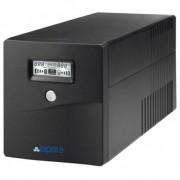 Lapara SAI Lapara 1000VA / 600W, in-LINE, 2x Schuko, 2x IEC, USB, RJ11, LCD