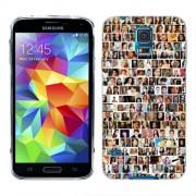Husa Samsung Galaxy S5 Mini G800F Silicon Gel Tpu Model Small Portraits