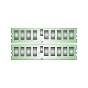 Kingston - DDR2 - 16 Go: 2 x 8 Go - DIMM 240 broches