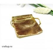 Săculeți metalizați dreptunghiulari (10 buc)