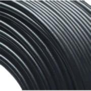 Furtun gaz, PVC (negru), 5x1,5mm