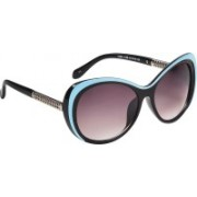 Ted Smith Cat-eye Sunglasses(Brown)