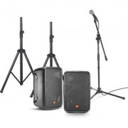 JBL EON 208 Bundle Portable PA with Stands/Mic