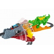 Set de joaca circuit cu sina Locomotiva Thomas - Dragonul