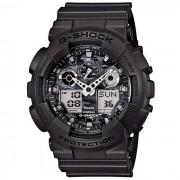 analogico-digital-reloj negro de los hombres de CASIO G-SHOCK GA-100CF-8AER