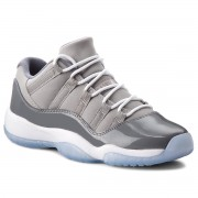 Обувки NIKE - Air Jordan 11 Retro Low Bg 528896 003 Medium Grey/White/Gunsmoke