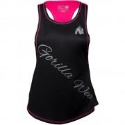 Gorilla Wear Florida Stringer Tank Top Black/Pink - L