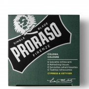 Proraso Refreshing Tissues - Cypress and Vetyver (Pack of 6)