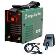 Aparat de sudura invertor MegaGarden 250A electrod 1.6-4mm accesorii incluse