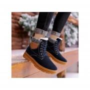 Botas de algodón de moda-fashion-cool-Hombre-azul