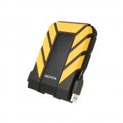"""HDD extern ADATA, 1TB, HD710 Pro, 2.5"""", USB 3.1, plastic si silicon, rezistent la socuri, galben"""