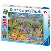 Puzzle Animale In Africa, 200 Piese Ravensburger
