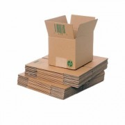 Single Wall Cardboard Box 220x165x165mm / Pack of 25