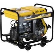 Generator de curent KIPOR KDE 6500 X, 6 kVA, diesel